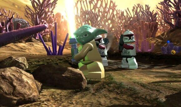 Lego Star Wars III: The Clone Wars será lançado em Março. Yeah!