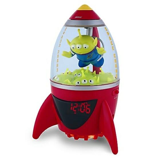 Rádio Relógio Nave Alienígena de Toy Story