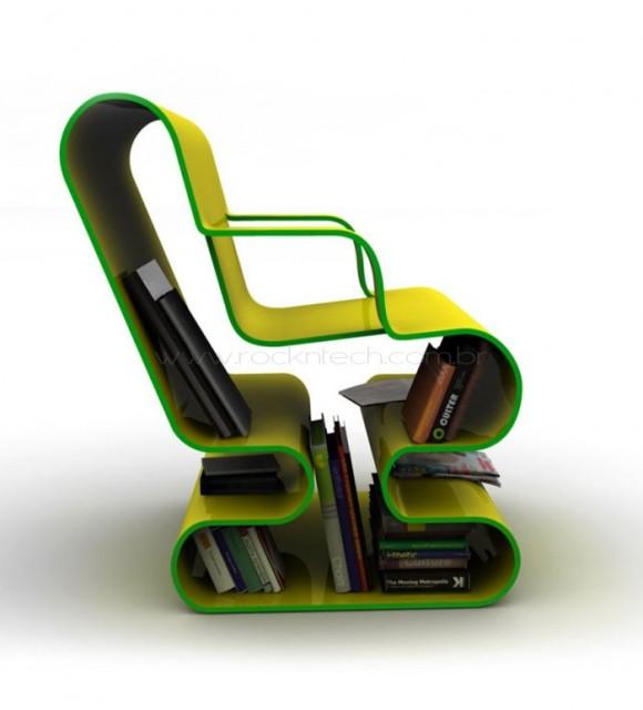Ofo – Uma cadeira para os apaixonados por livros.