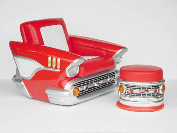Poltrona Chevy 1957 – Perfeita para os apaixonados por carros!