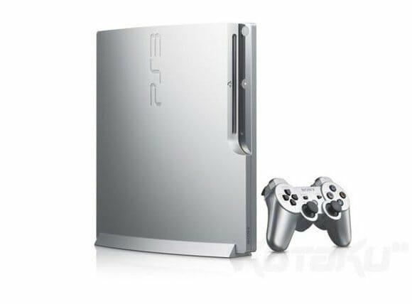 PS3 Slim terá versão prateada.