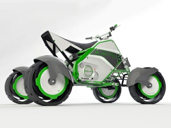 QUAD - Um Quadriciclo futurista ecologicamente correto.