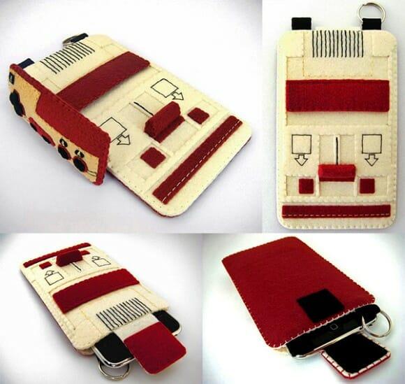 Proteja seu iPhone dentro de um console de videogame!