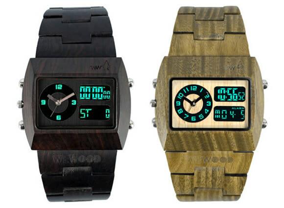 WeWood - Relógios cheios de estilo feitos com madeiras reaproveitadas.
