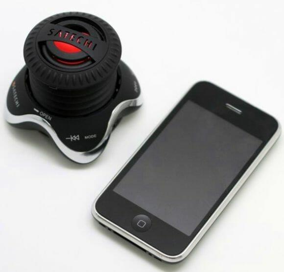 Um speaker wireless para escutar as músicas de seu iPhone à distância.