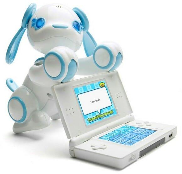 SEGA Wappy Dog - Um simpático robô criado para interagir com o Nintendo DS.