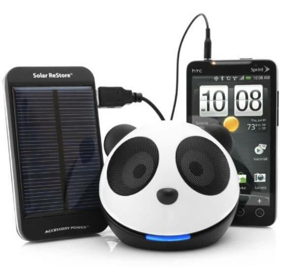Panda Pal Portable – Um speaker de Urso Panda.