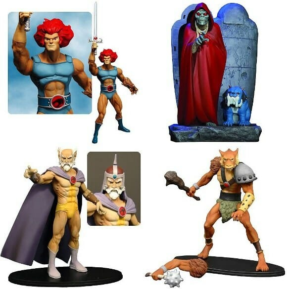 Action Figures dos ThunderCats.