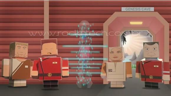 VIDEOFUN – Star Trek II: A Ira de Khan em 60 segundos contado por Cube Dudes de Papel.