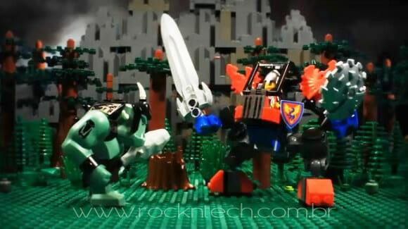 VIDEOFUN – A Floresta Medieval de LEGO.
