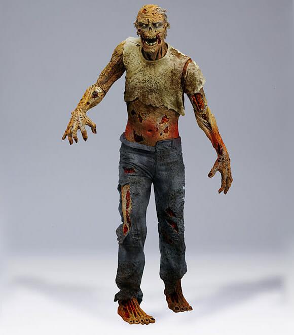 Action Figures da série The Walking Dead são impressionantes!