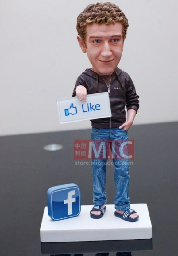 Mark Zuckerberg, criador do Facebook, vira Action Figure.