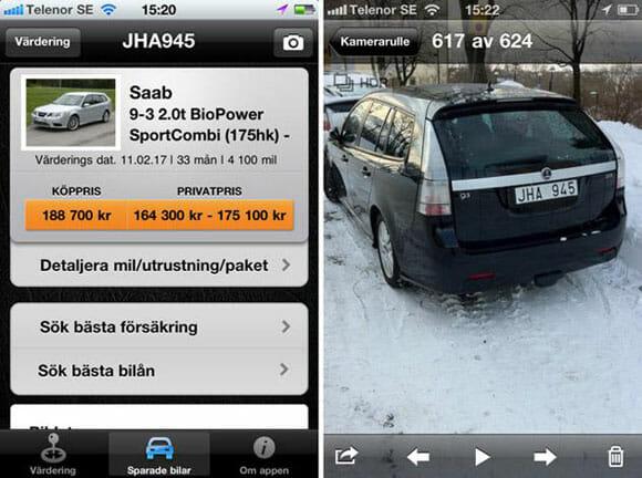 Aplicativo para iPhone permite que você descubra o preço de carros tirando foto deles.