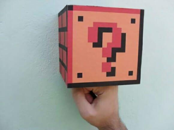 Crie seu próprio bloco de interrogação do Super Mario e fique rico!