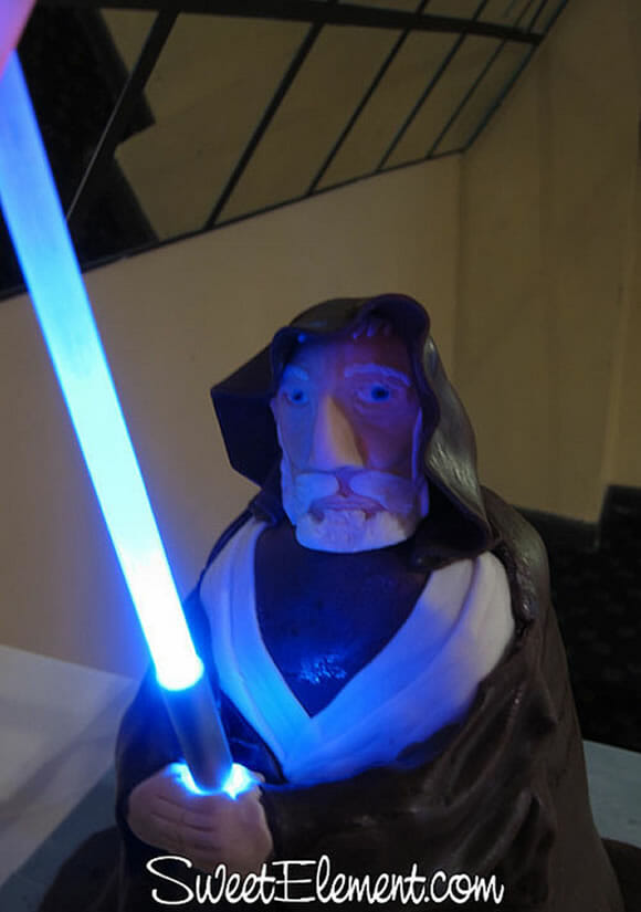Bolo Obi-Wan Kenobi vs Darth Vader