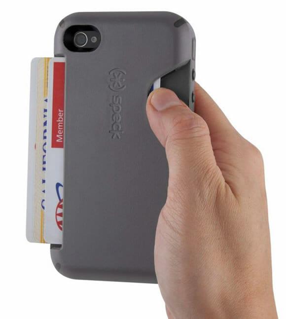 Case CandyShell transforma seu iPhone em uma carteira para levar seus documentos.