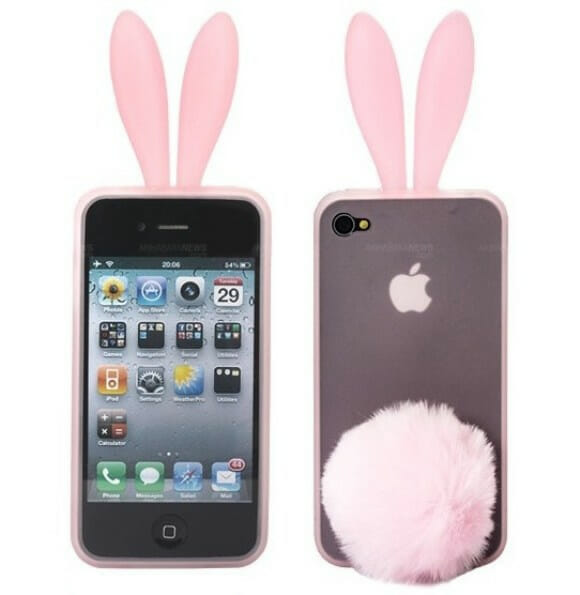 Rabito - Um case de coelho para seu iPhone.