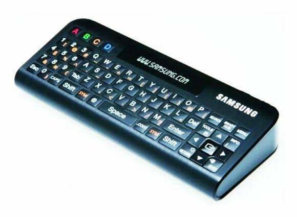 Novo controle remoto da Samsung para donos do aparelho Google TV.