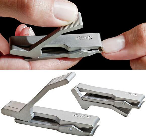 Klhip - Um cortador de unhas revolucionário com design futurista.