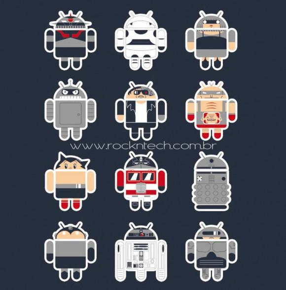 FOTOFUN - Androids Famosos.