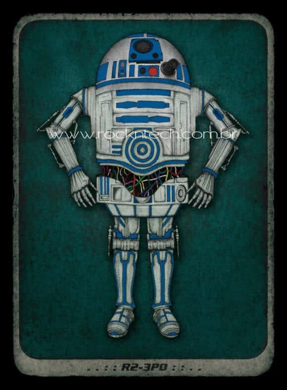 FOTOFUN - Misturar R2-D2 com C-3PO dá nisso!