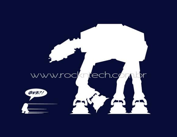 FOTOFUN - Run R2-D2! Run! Run!
