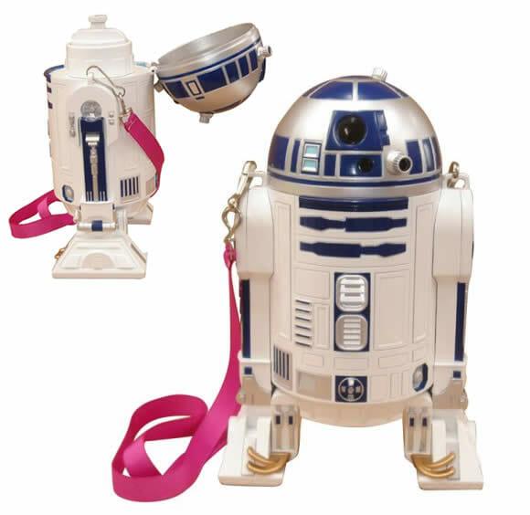 Garrafa de água do R2-D2.