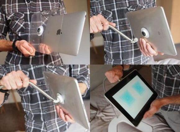 Hanfree - A forma mais confortável já inventada de utilizar seu iPad! (com vídeo)