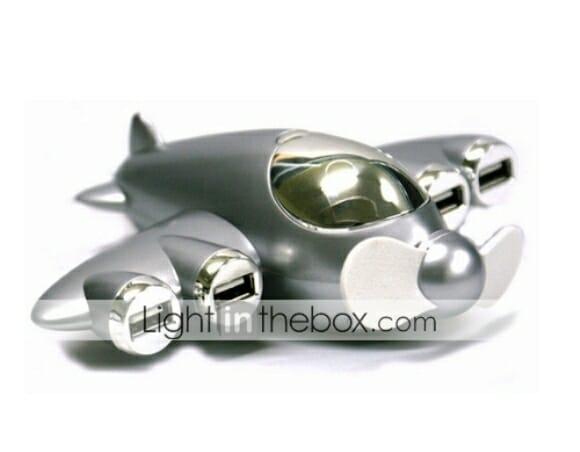 Aircraft Hub - Um hub USB em forma de avião.
