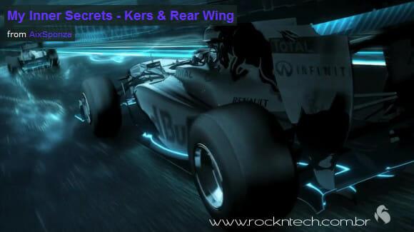 Uma fantástica animação em 3D de sistemas de potência e aerodinâmica na F1. (com vídeo)