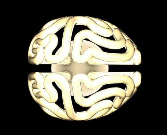 Insight Bulb - A lâmpada com formato de cérebro.