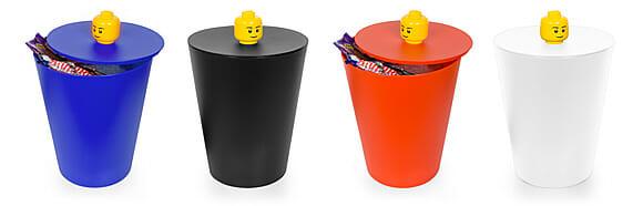 Que tal colocar ordem na bagunça com a lixeira oficial da LEGO?