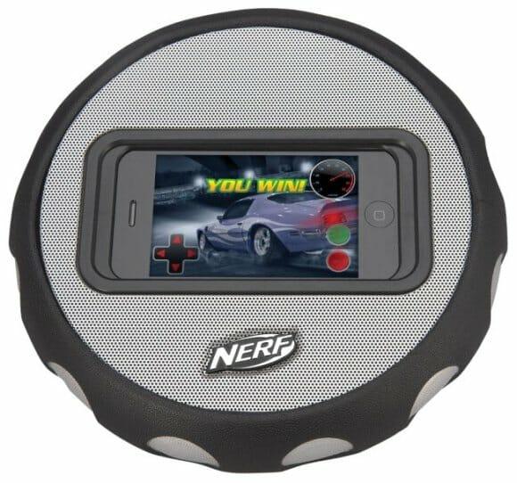 Volante e Speaker para fãs de jogos de corridas no iPhone.