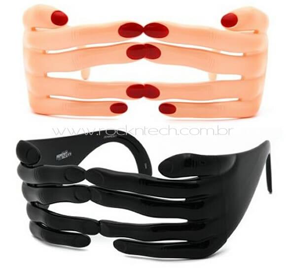 Óculos de mãos - Bizarros, engraçados e não muito úteis.