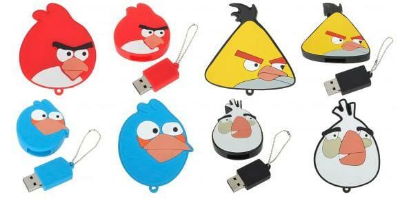 Preparem os estilingues: Angry Birds agora também são pen drives!
