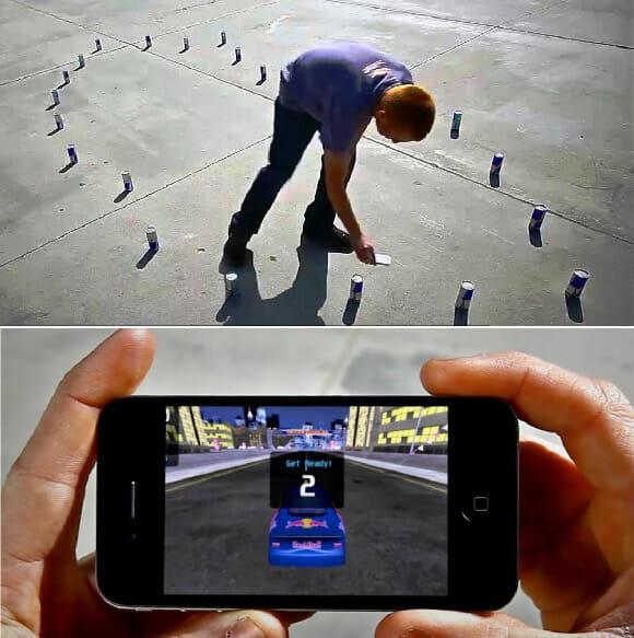 Red Bull lança game de corrida para iPhone baseado em Realidade Aumentada. (com vídeo)