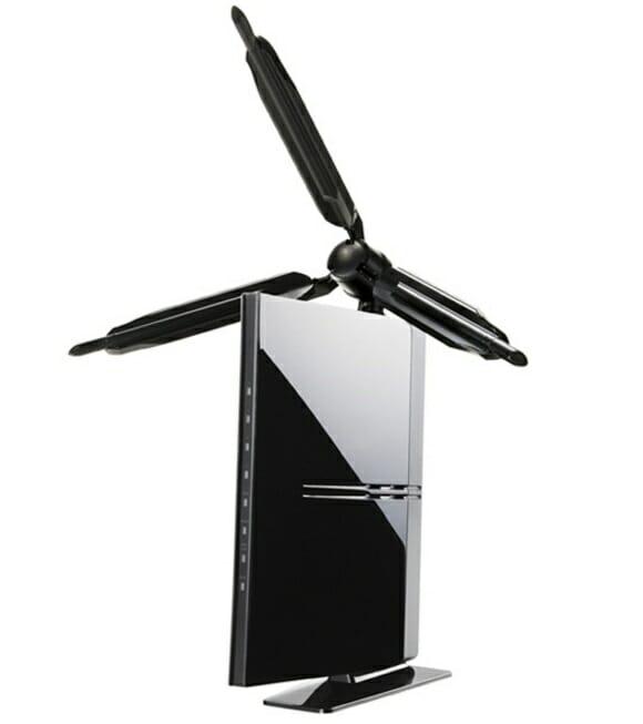 Não é um ventilador, é o novo roteador wireless da Logitech!
