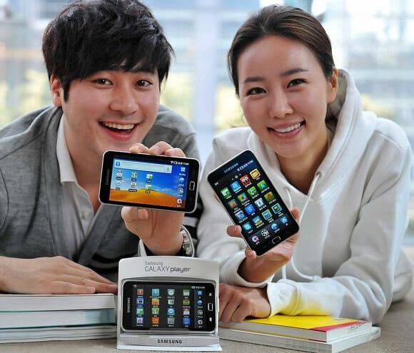 Com vocês: Os novos Galaxy Players da Samsung!