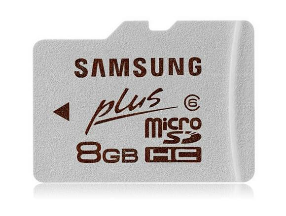 Samsung lança cartões SDHC à prova d'água, ideais para desastrados!