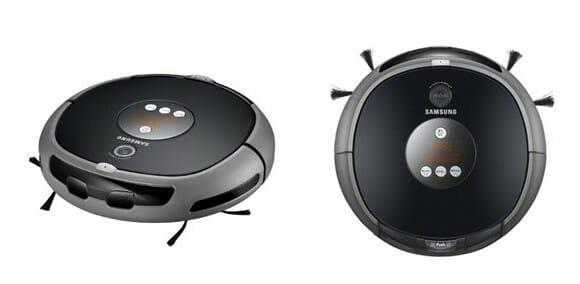 Samsung lança robô aspirador de pó com câmera de segurança integrada.