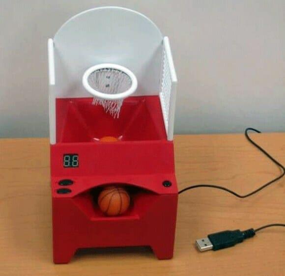 Basketball Desktop - Um acessório USB para quem gosta de basquete.