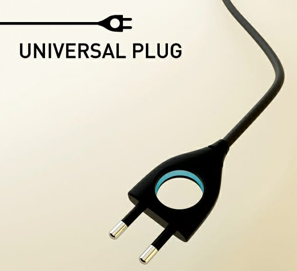 Plugue de tomada TRONitizado ajuda-nos a economizar energia.