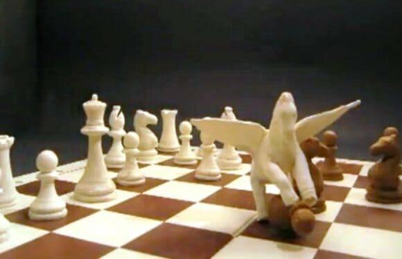 VIDEOFUN - A melhor partida de xadrez de todos os tempos.