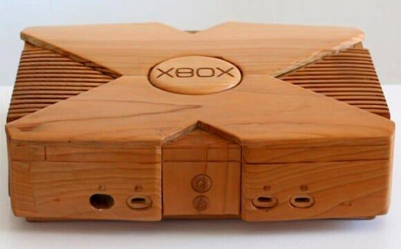 Um Xbox feito inteiramente de madeira!