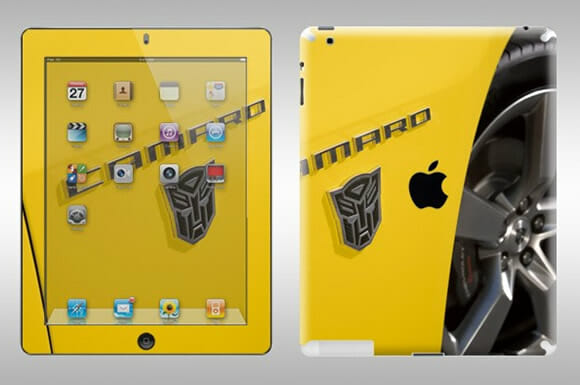 Adesivo dos Transformers para iPad 2.