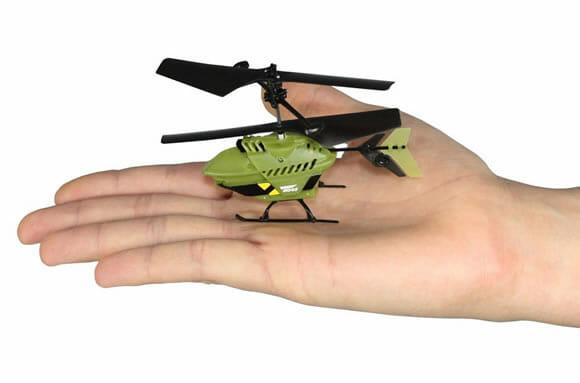 Pocket Copter - O menor helicóptero de controle remoto do mundo! (com vídeo)