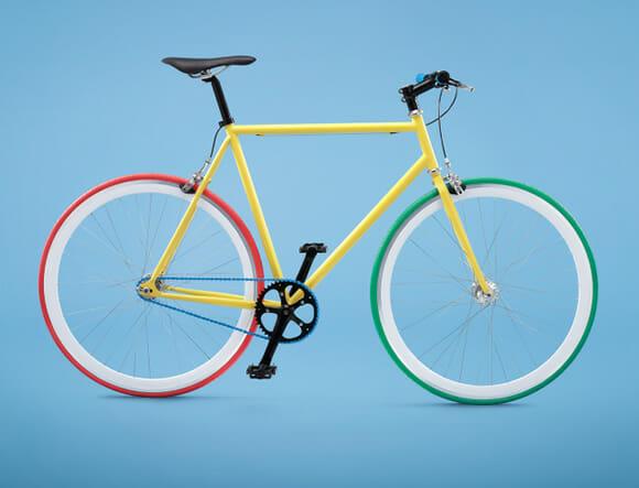 Bike by Me, sua bicicleta com suas cores preferidas!