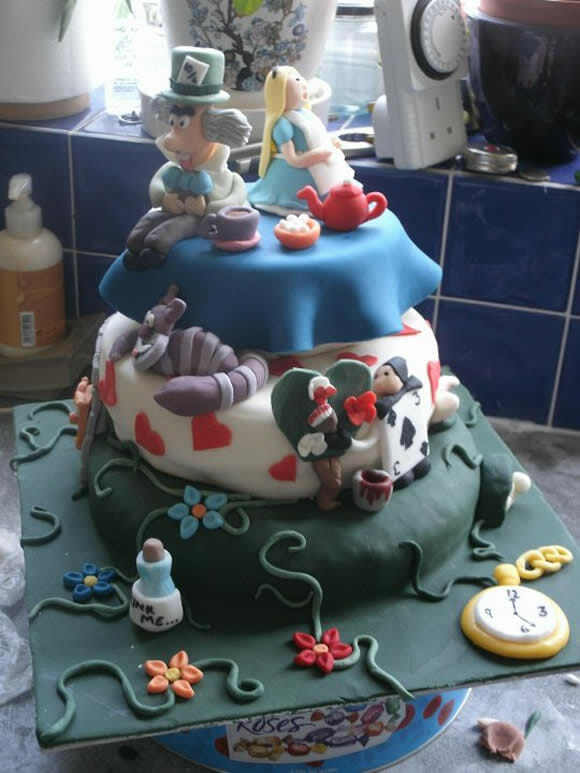 Cupcakes geeks e um bolo awesome!