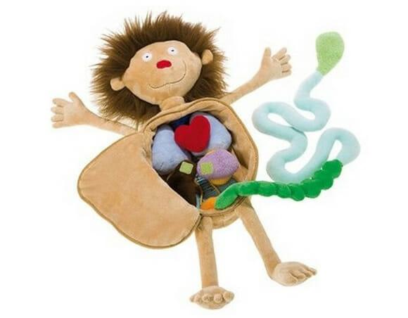 Um boneco diferente para as crianças aprenderem brincando.