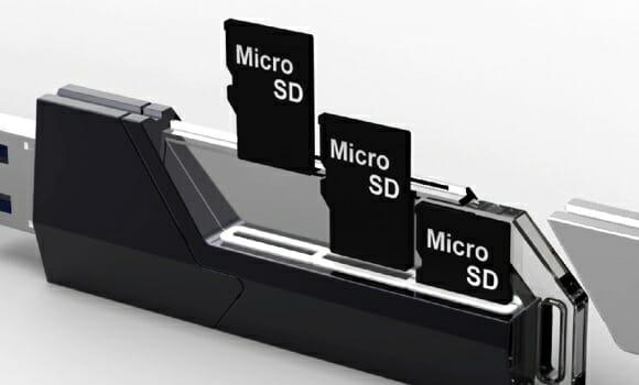 Já viu um pen drive de 6 GB? Com o Collector é possível chegar aos 48 GB!
